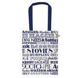 Scottish Dinner Canvas Bag