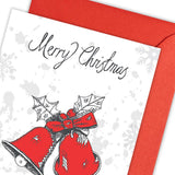 Christmas Bells Pack of 5 Greeting Card