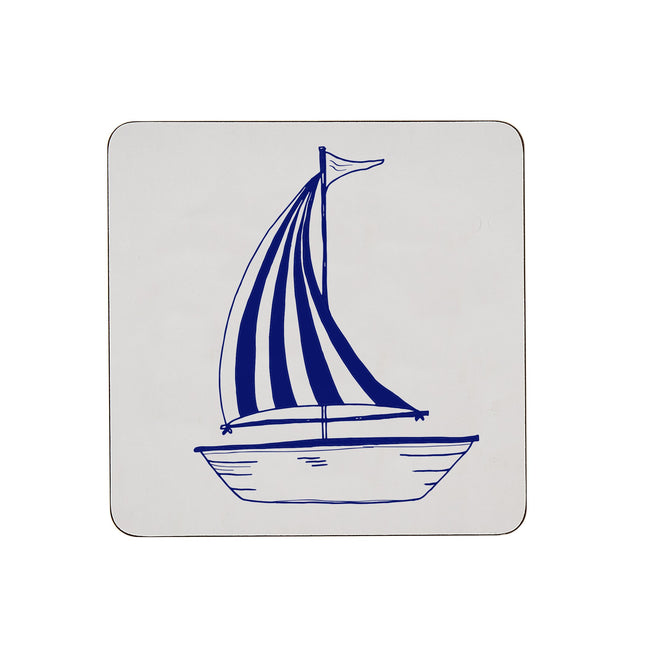 Sailing Boat Pot Stand