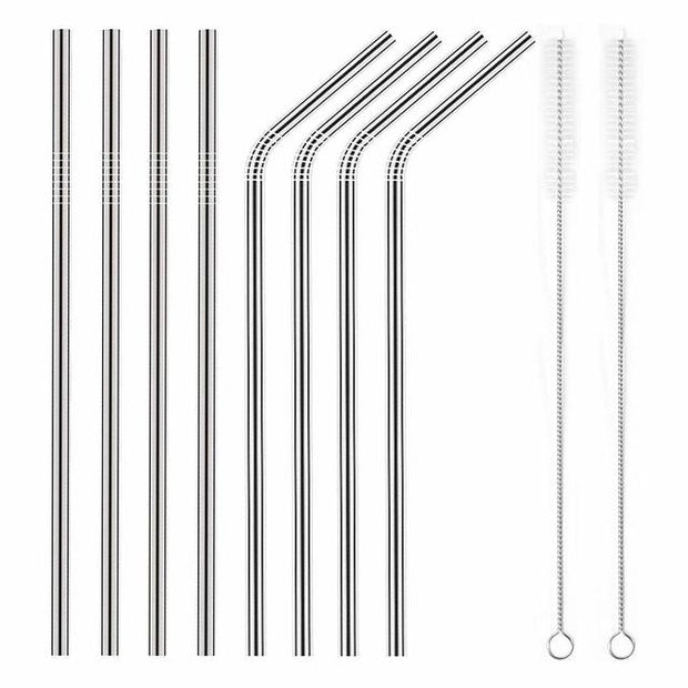 Reusable Metal Straw 8-Pack - Mastermind Kold Brew
