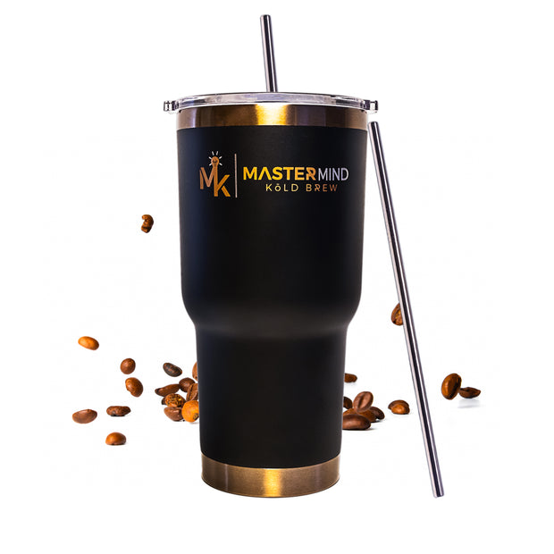 Reusable Metal Straws 8-Pack - Mastermind Kold Brew