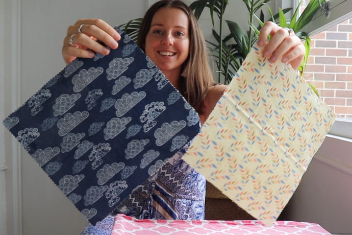 How to care for beeswax wraps