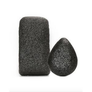 Charcoal Konjac Body & Face Sponge Duo