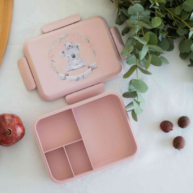 Boobox Dusty Pink Bamboo Lunchbox