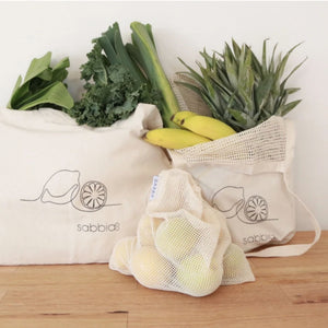 Canvas Shopper Set