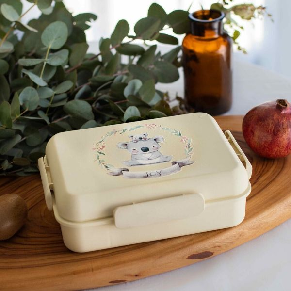 Boobox Lemon Bamboo Lunchbox