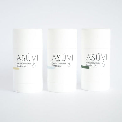 Natural Refillable Deodorant (3-pack) - Banish