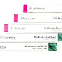 Slim Bamboo Toothbrush (4-pack)