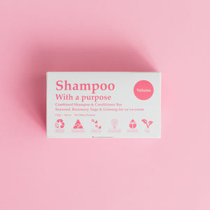 Shampoo & Conditioner Bar - Volume - Banish