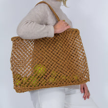 Jute String Shopper