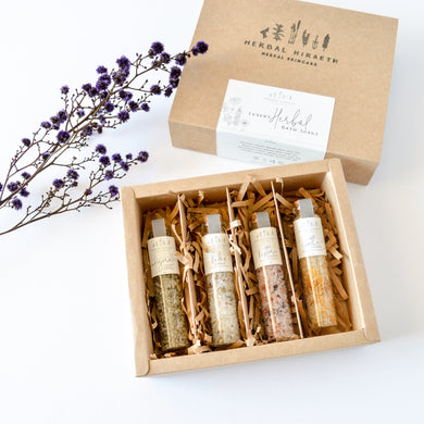 Luxury Herbal Bath Soak Set