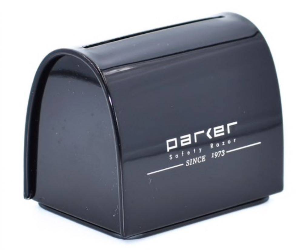 Parker Razor Blade Disposal Box 100 Pack Blades Banish