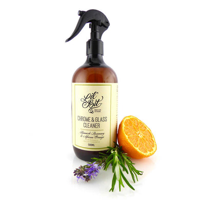 Spanish Rosemary & Sweet Orange Chrome & Glass Cleaner 500ml