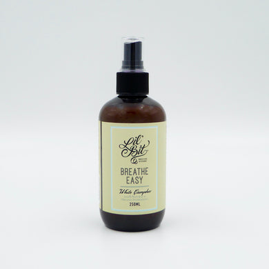Breathe Easy White Camphor Room/Pillow Spray & Steam Inhalant