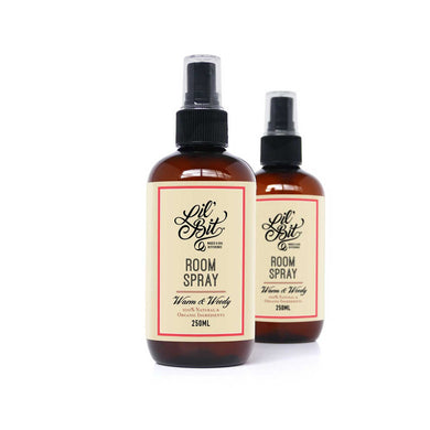 Naturally Scented Warm & Woody Room Spray 250ml