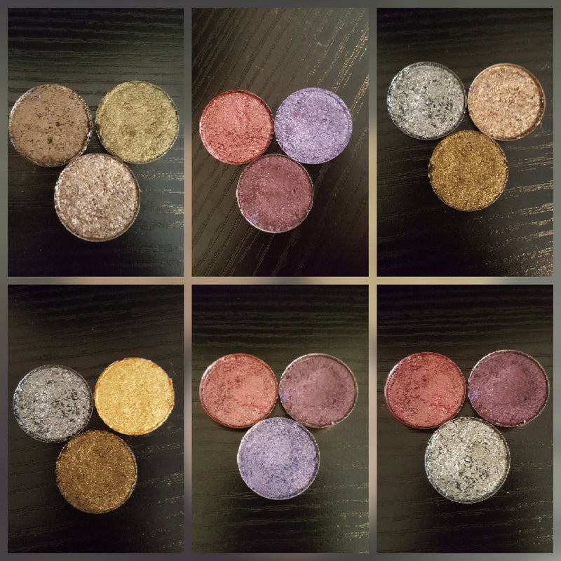Eye Shadow Tripple Threat Palettes - Destinys Sweet Scents