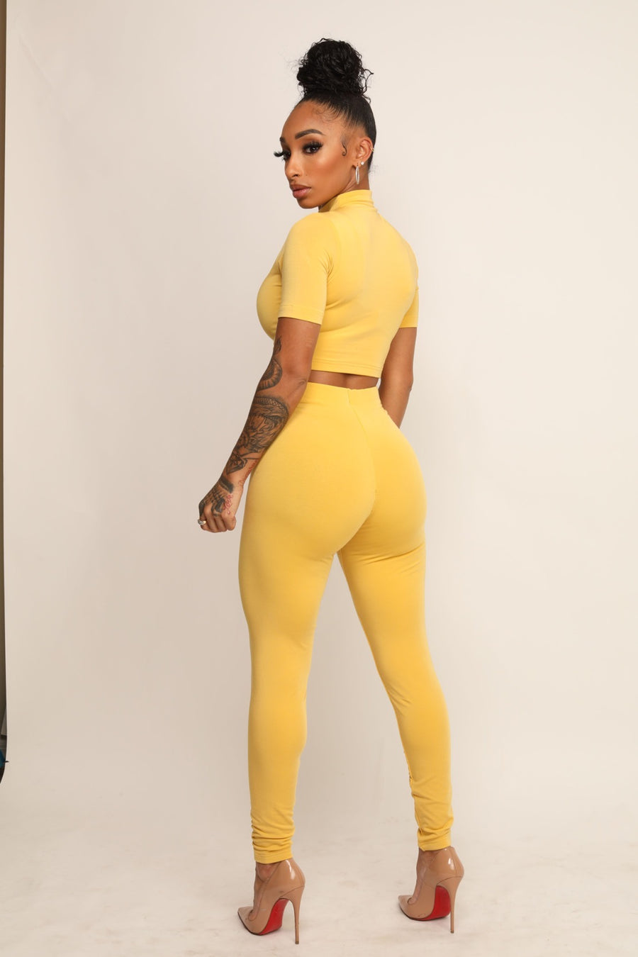 YELLOW HW PANTS