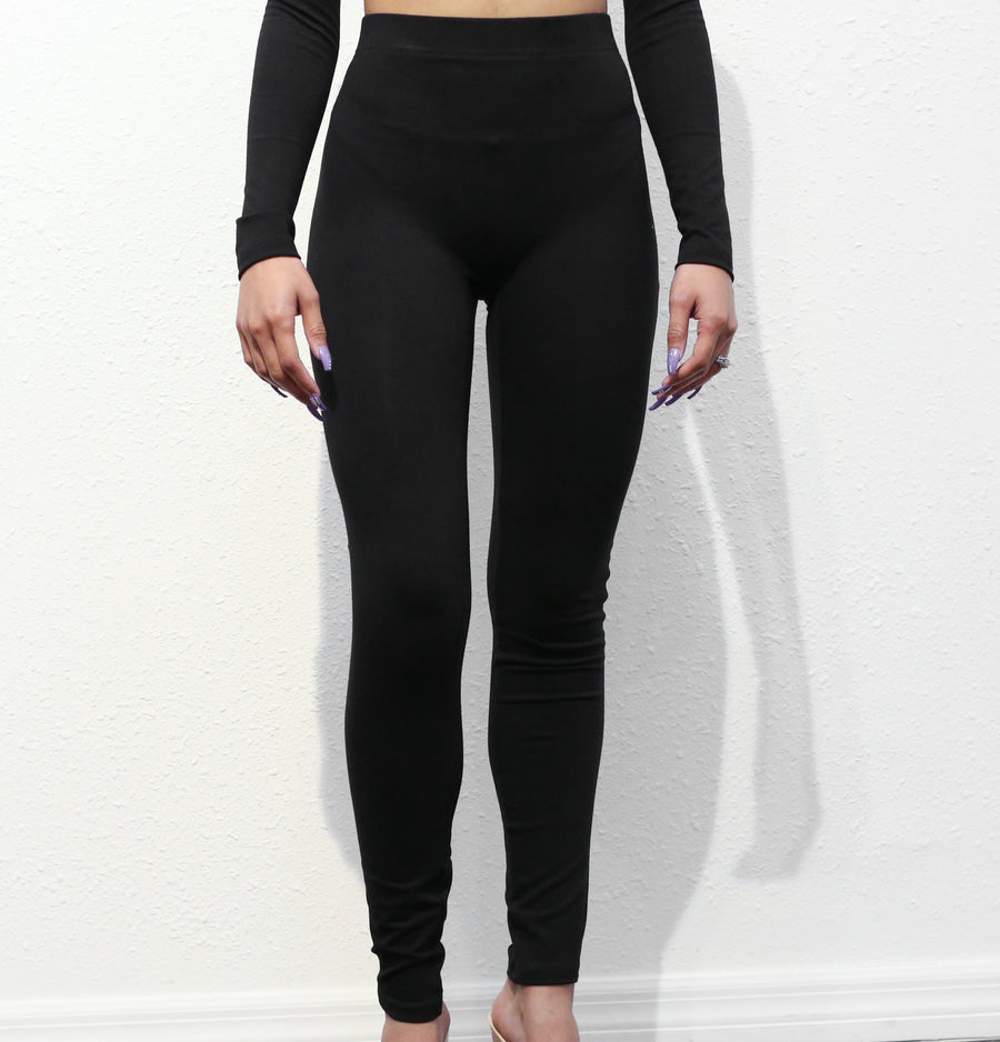 All Black Leggings