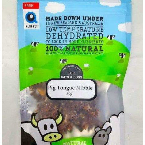 Alfa Pet Pig Tongue 50g - Summers Pet Accessories