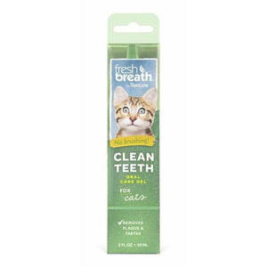 Clean Teeth Cat Gel 59ml - Summers Pet Accessories