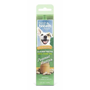 Clean Teeth Oral Care Peanut Butter 59ml - Summers Pet Accessories