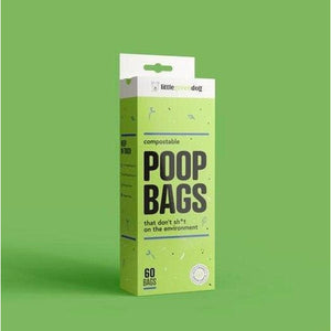 Compostable Poop Bags 60 Bags - Summers Pet Accessories