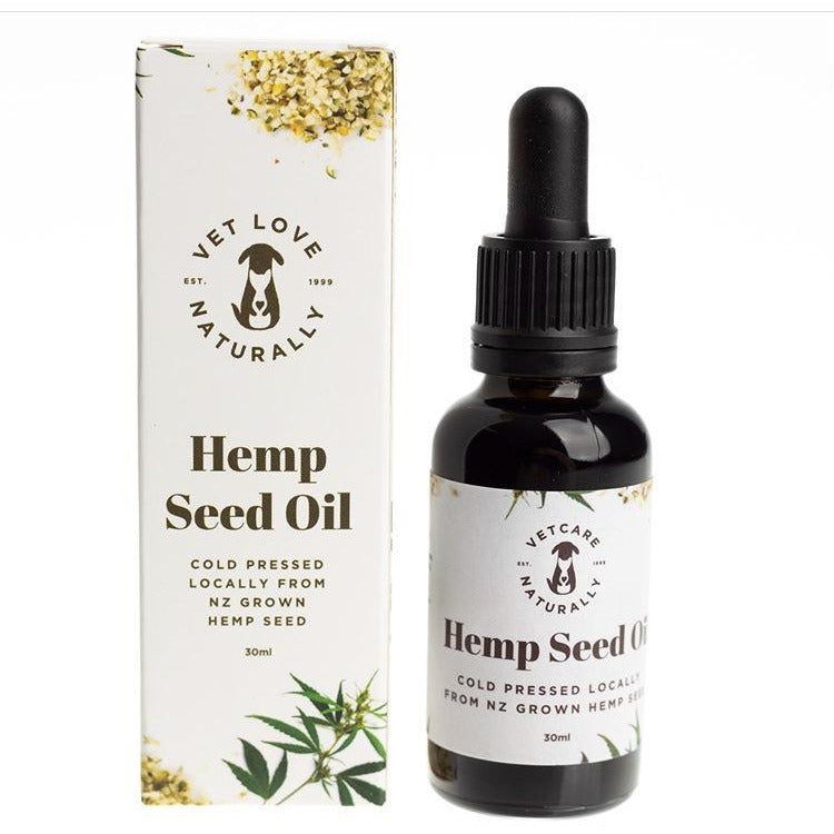 Vet Care Hemp Seed Oil 30ml