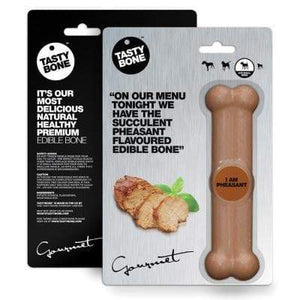 Nylon Gourmet Bone Pheasant Small - Summers Pet Accessories