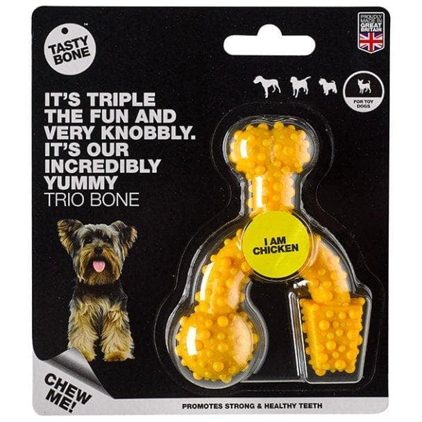 Nylon Trio Bone Chicken - Summers Pet Accessories