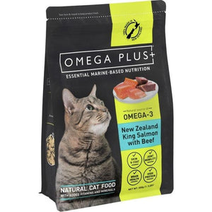 Omega Plus Feline King Salmon with Beef 500g - Summers Pet Accessories
