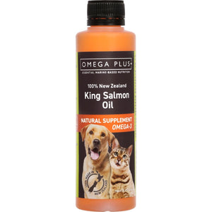 Omega Plus King Salmon Oil Dietary Supplement 250mls - Summers Pet Accessories