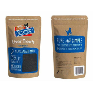 Superior Chunky Beef Liver 100g - Summers Pet Accessories