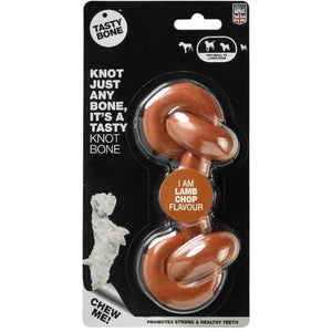 Tasty Bone Knotted Lamb Chop Flavour - Summers Pet Accessories