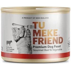 Tu Meke Gourmet Beef & Vegetable Dog Cans 175g - Summers Pet Accessories