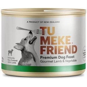Tu Meke Gourmet Lamb & Vegetable Dog Cans 175g - Summers Pet Accessories