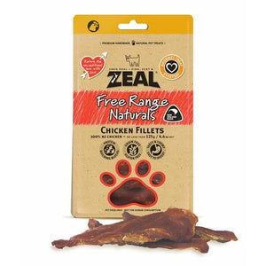 Zeal Chicken Fillets 125g - Summers Pet Accessories