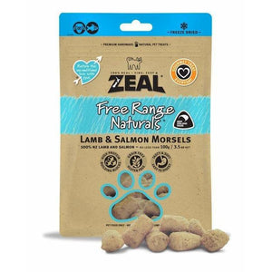 Zeal Lamb & Salmon Morsels 100g - Summers Pet Accessories