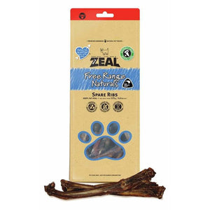 Zeal Spare Ribs 125g - Summers Pet Accessories