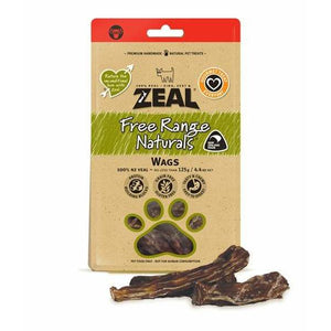 Zeal Wags (Veal Tails) 125g - Summers Pet Accessories