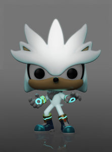 FUNKO POP! GAMES: SONIC THE HEDGEHOG (GITD) SILVER EXCLUSIVE