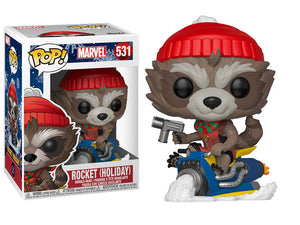 Funko Pop! Marvel: Holiday - Rocket