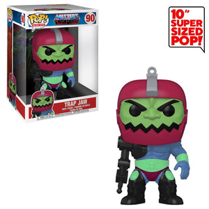 Funko POP! Masters of the Universe: Trap Jaw 10-Inch Vinyl Figure