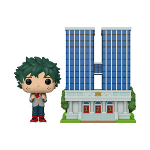 Funko POP! Town: My Hero Academia -  U.A. High School w/ Deku in Uniform S7