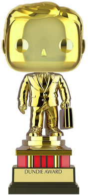 Funko Pop! The Office - Customizable Chrome Dundie Award (Amazon Exclusive)