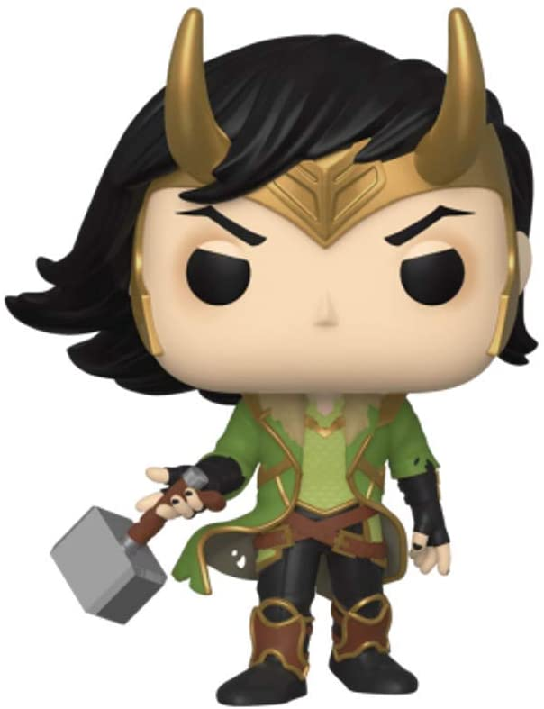 Funko Pop! Marvel: Loki FCBD 2020 Previews Exclusive Vinyl Figure