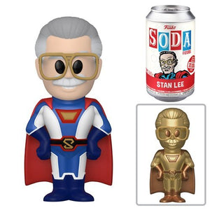 Funko Vinyl SODA: Stan Lee Superhero - Limited Edition 1-6 Chase