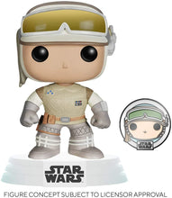 Funko POP! Star Wars: Hoth Luke Skywalker w/ Pin (Exclusive)