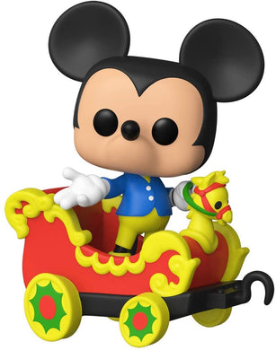 Funko POP! Disney: Casey Jr Train Ride - Mickey in Car