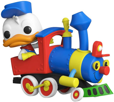 Funko POP Train: Casey Jr- Donald Duck w/Engine (Deluxe)