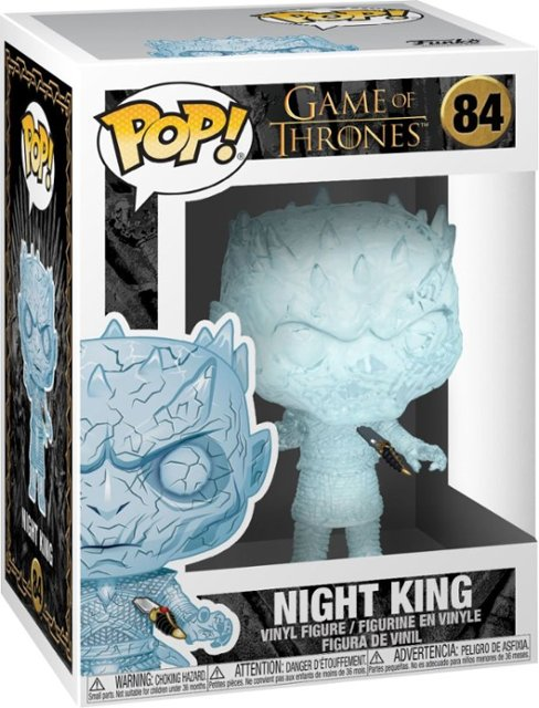 Funko - POP! TV: Game of Thrones - Night King (Crystal)